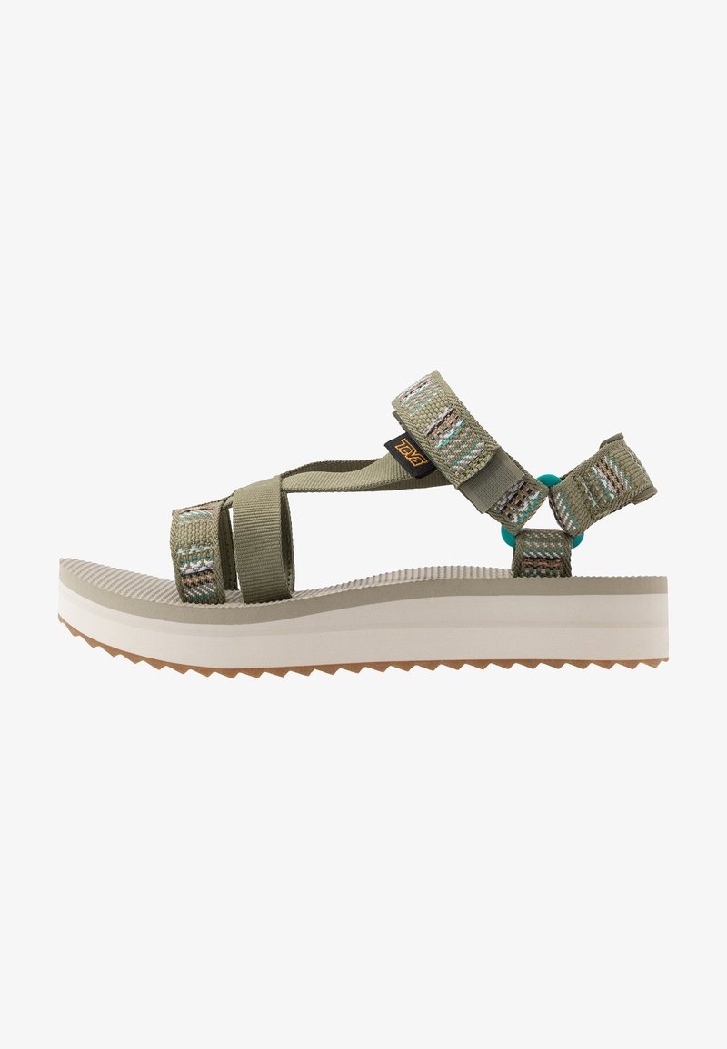 Teva - MIDFORM ARIVACA WOMENS - Walking sandals - burnt olive