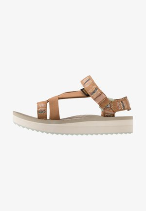 MIDFORM ARIVACA WOMENS - Walking sandals - aviles chipmunk