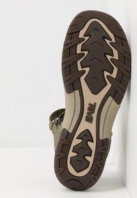 Teva - TIRRA WOMENS - Walking sandals - burnt olive - 4