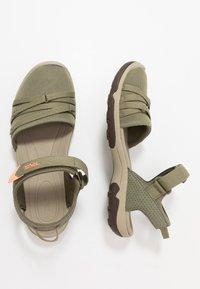 Teva - TIRRA WOMENS - Walking sandals - burnt olive - 1