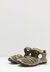 Teva - TIRRA WOMENS - Walking sandals - burnt olive - 2