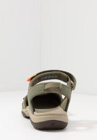 Teva - TIRRA WOMENS - Walking sandals - burnt olive - 3