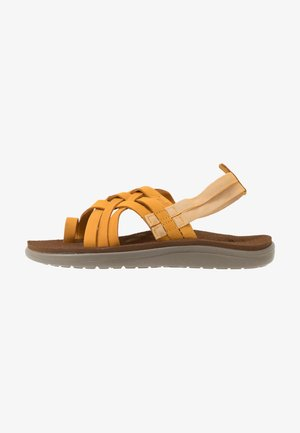 VOYA STRAPPY WOMENS - Walking sandals - sunflower