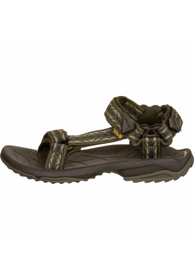 TERRA FI LITE - Walking sandals - dark olive