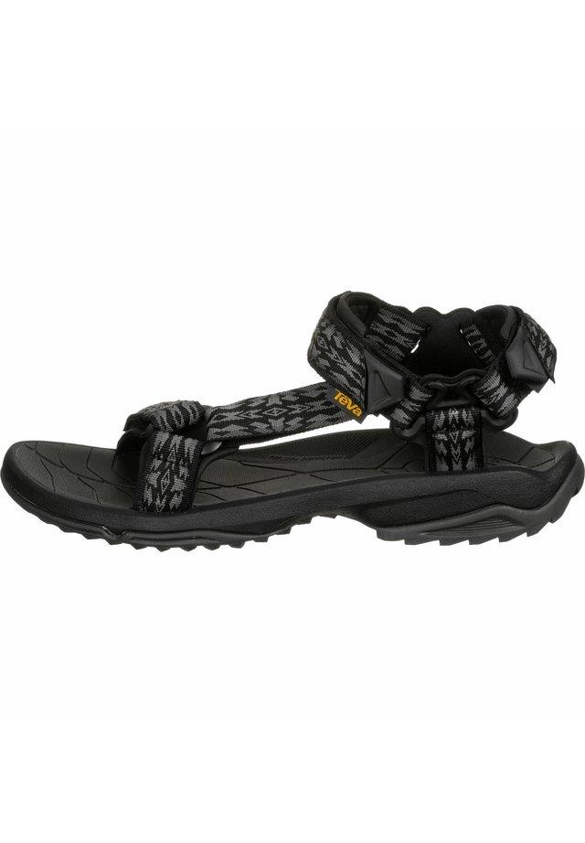 TERRA FI LITE - Walking sandals - rambler black