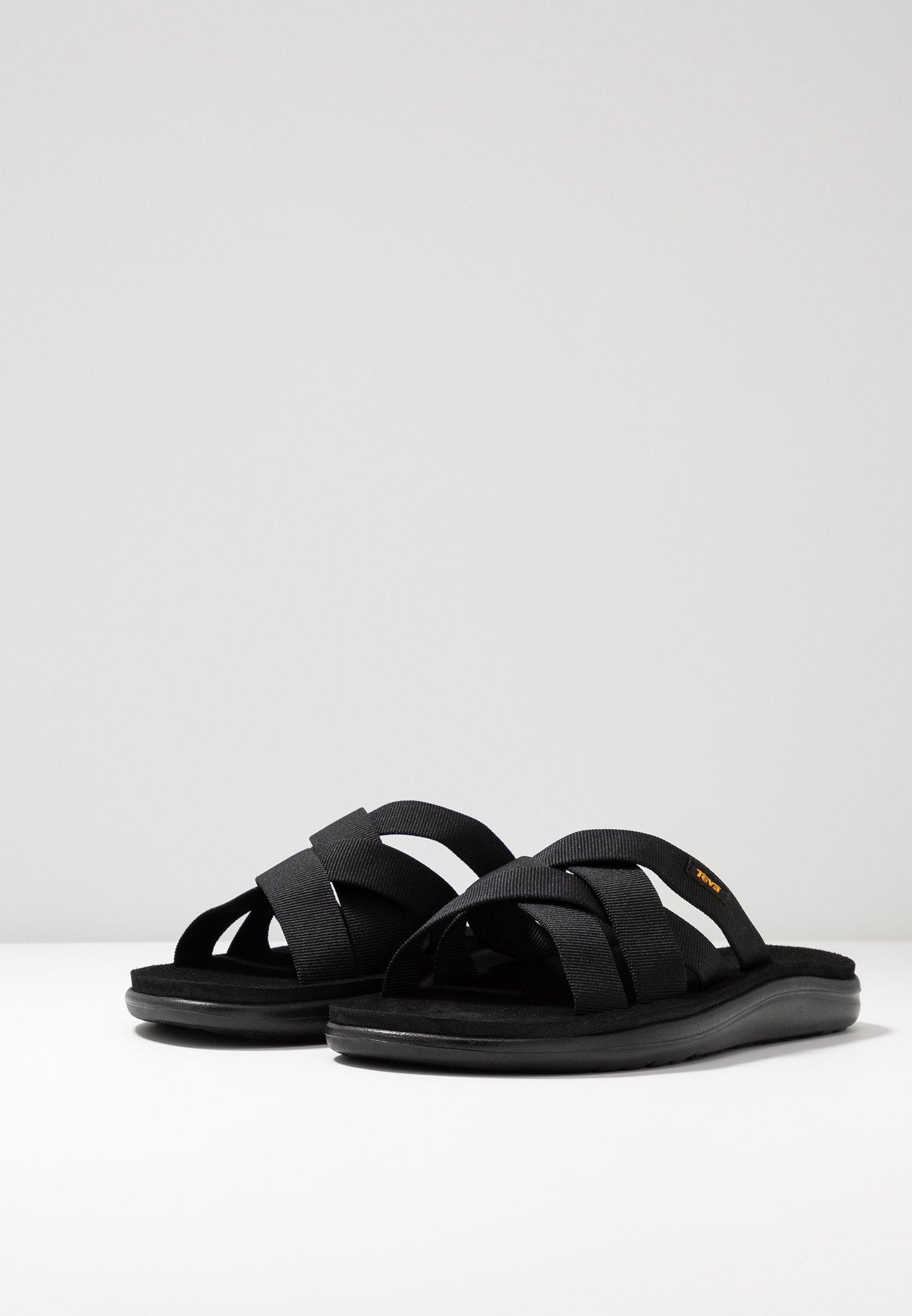 Teva VOYA SLIDE - Sandales de randonnée black