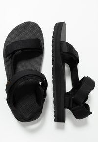Teva - UNIVERSAL TRAIL - Walking sandals - black - 1