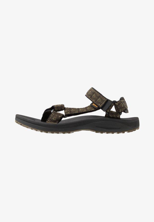 WINSTED MENS - Walking sandals - bamboo/dark olive
