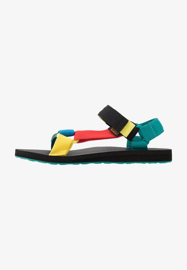 ORIGINAL UNIVERSAL MENS - Walking sandals - multicolor
