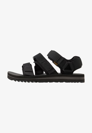 CROSS STRAP MENS - Sandalias de senderismo - black