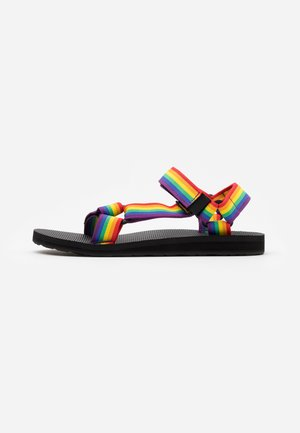 ORIGINAL UNIVERSAL - Walking sandals - rainbow/black