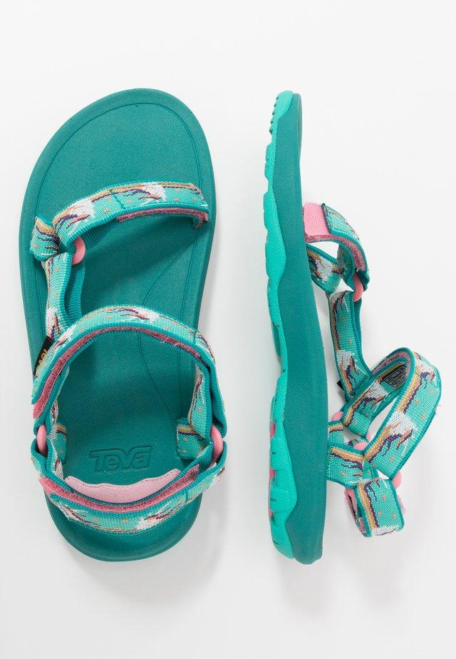 Chodecké sandály - turquoise