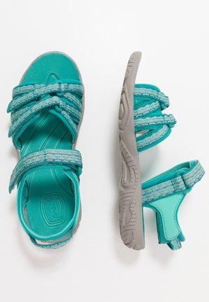 Vandringssandaler - camino metallic/teal blue