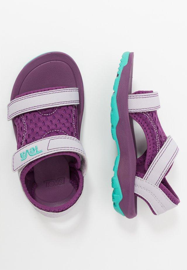 Chodecké sandály - gloxinia/iris
