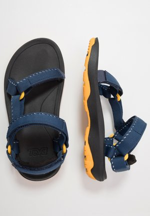 Walking sandals - speck navy