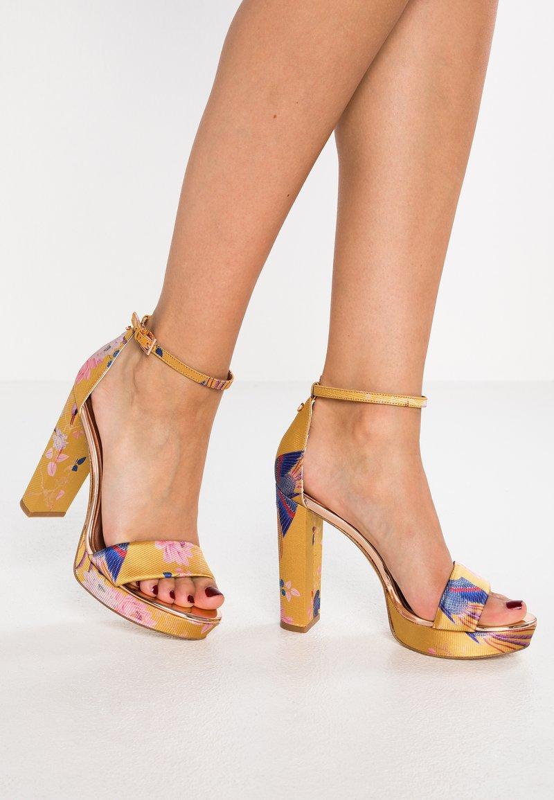 Ted Baker - JUNAA - High heeled sandals - yellow