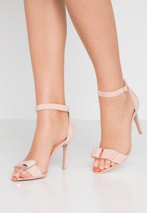 HANMA - Sandalen met hoge hak - nude