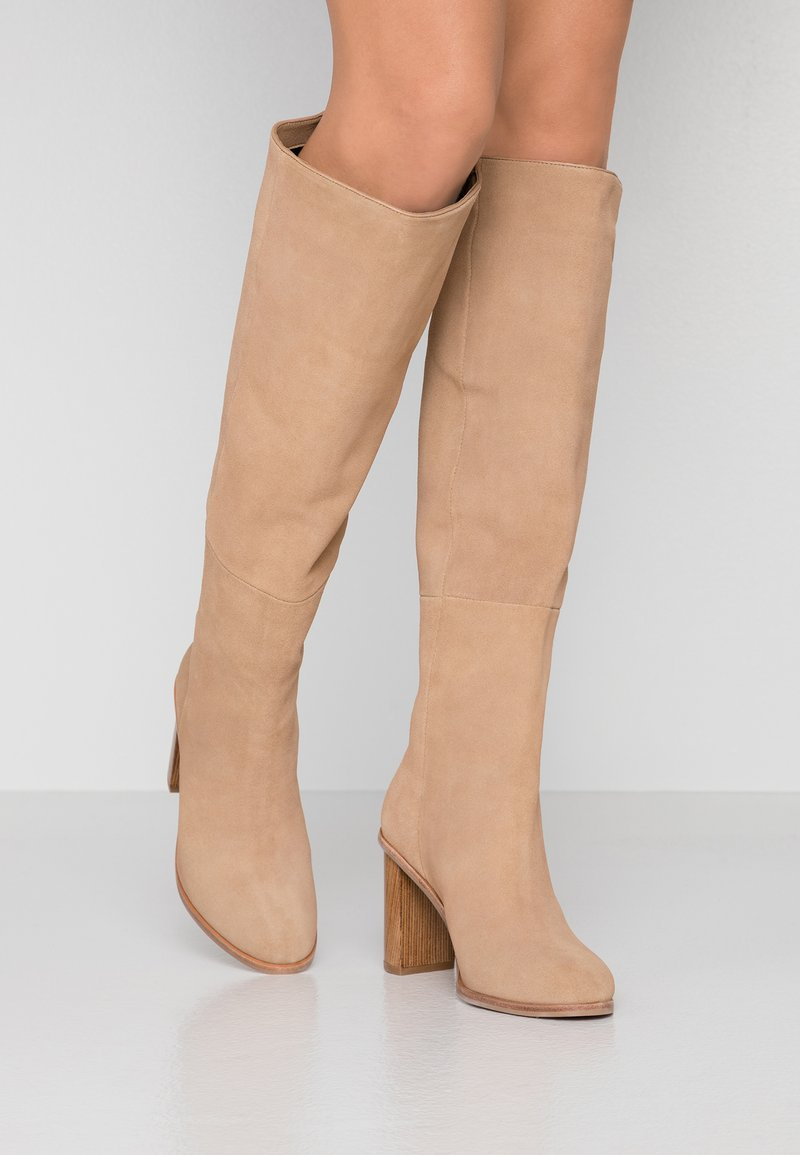 Ted Baker - DOLARE - High heeled boots - camel