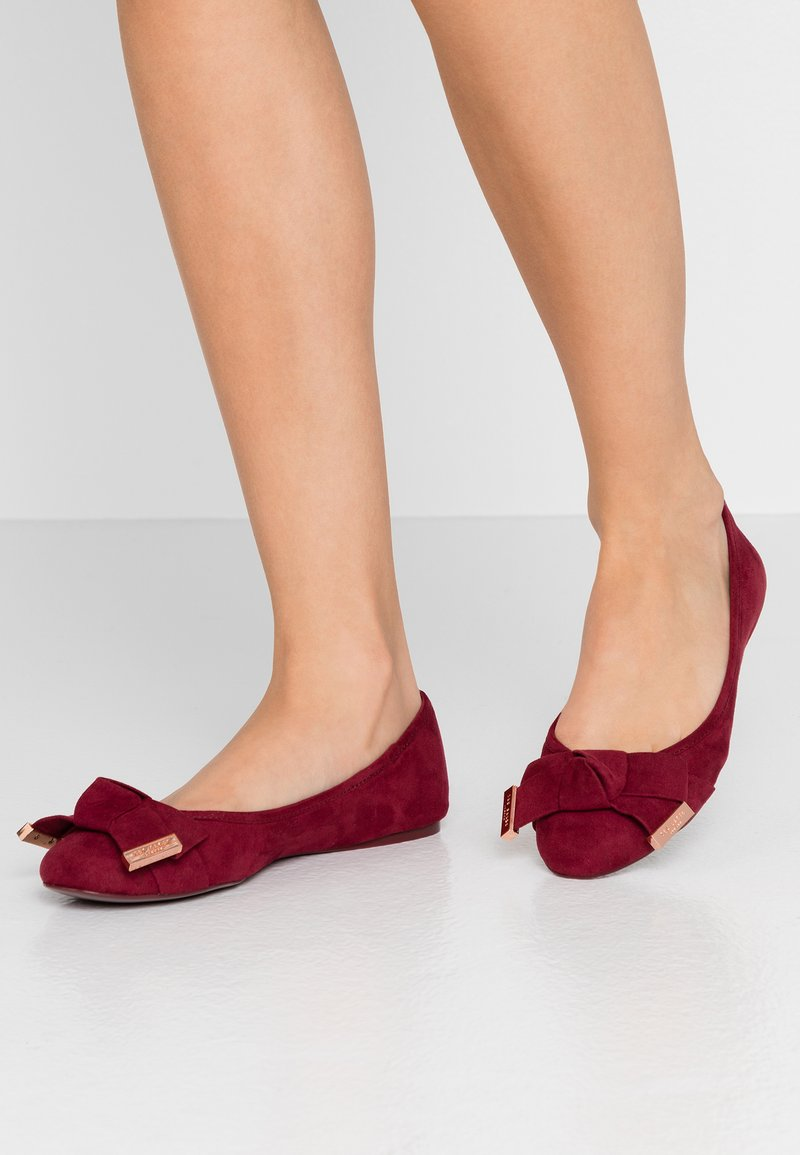 Ted Baker - ANTHEIA - Ballerina's - burnt berry