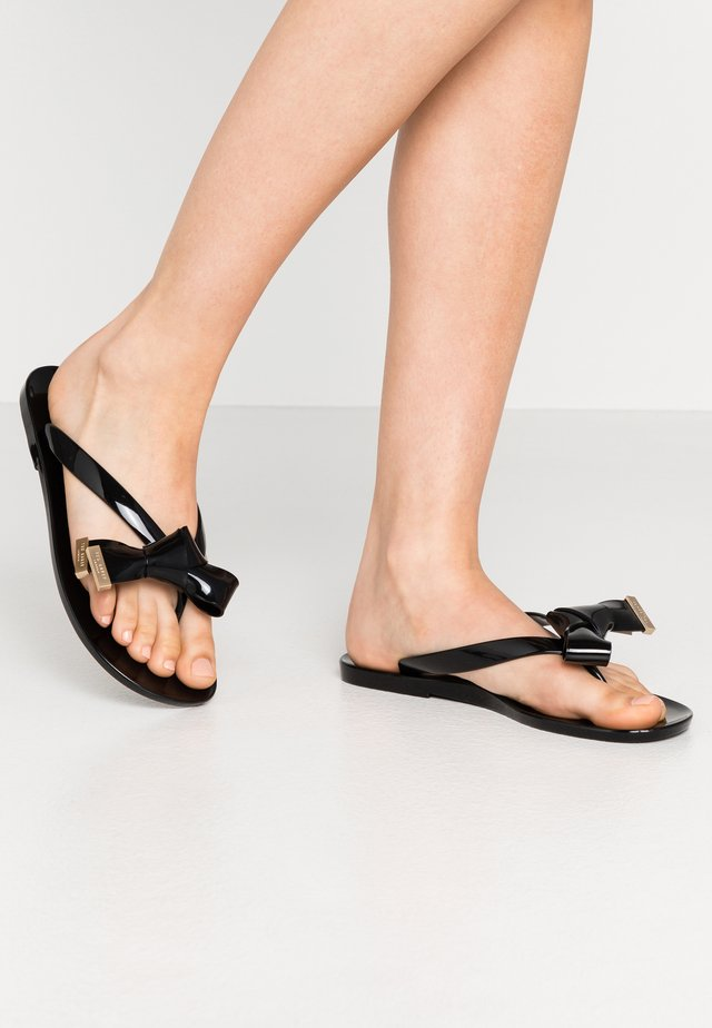 LUZZI - Pool shoes - black