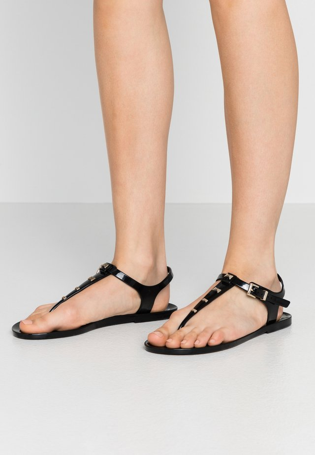 MEIYA - T-bar sandals - black