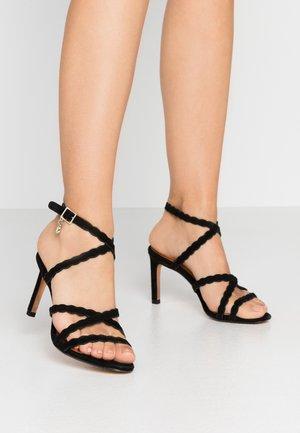LILLYS - Sandalen met hoge hak - black