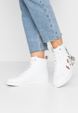 ZEREL - Sneakers hoog - white