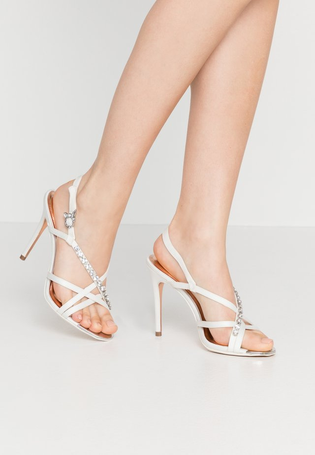 THEANAI - High heeled sandals - ivory
