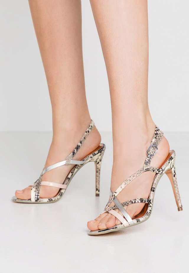THEANAA - High heeled sandals - taupe
