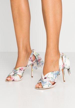 RECALAP - High heeled sandals - ivory