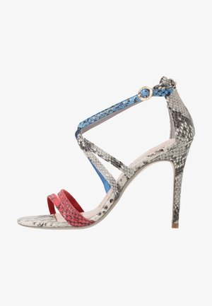 ORALIEE - High heeled sandals - grey