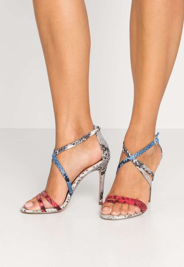 ORALIEE - High heeled sandals - grey