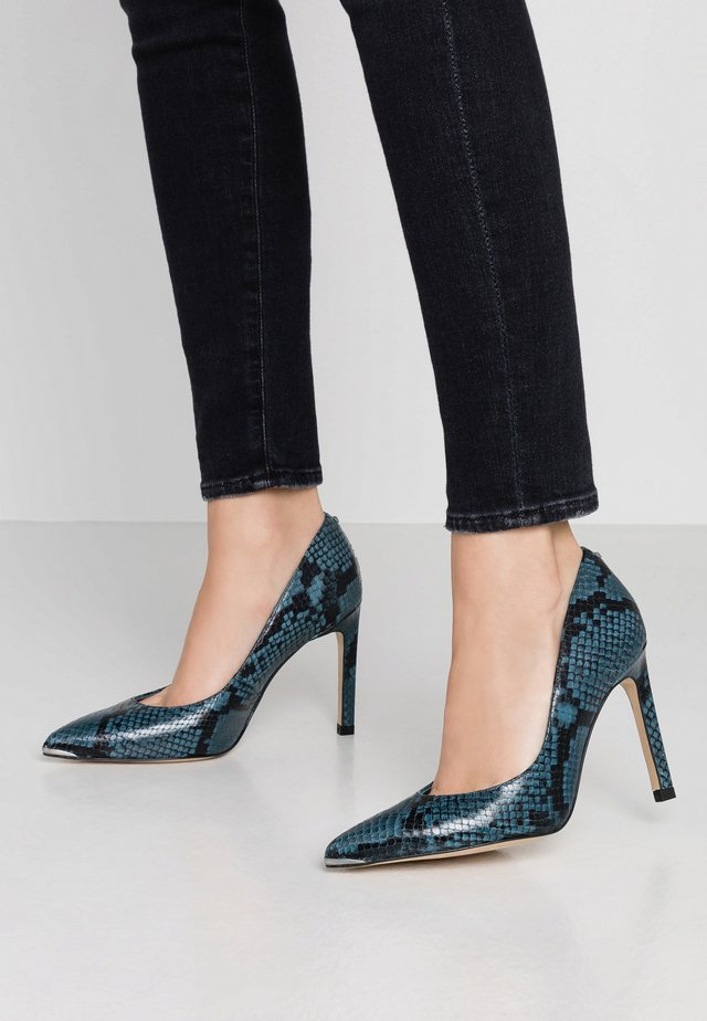 SZAFFIL - High heels - mid blue