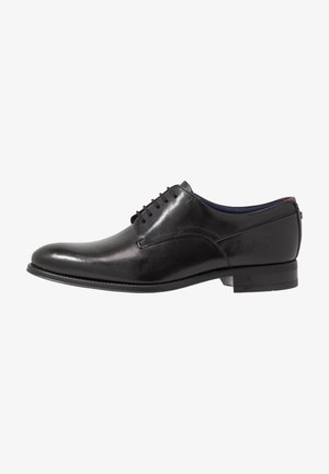 VATTAL - Smart lace-ups - black