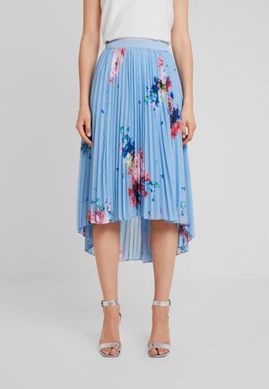 HARRPA - Pleated skirt - lt blue
