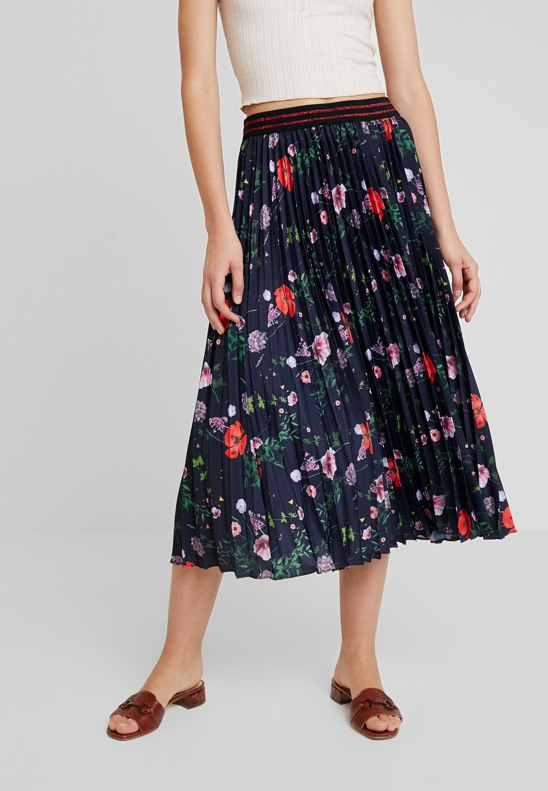 Ted Baker - LUISH - A-line skirt - dark blue
