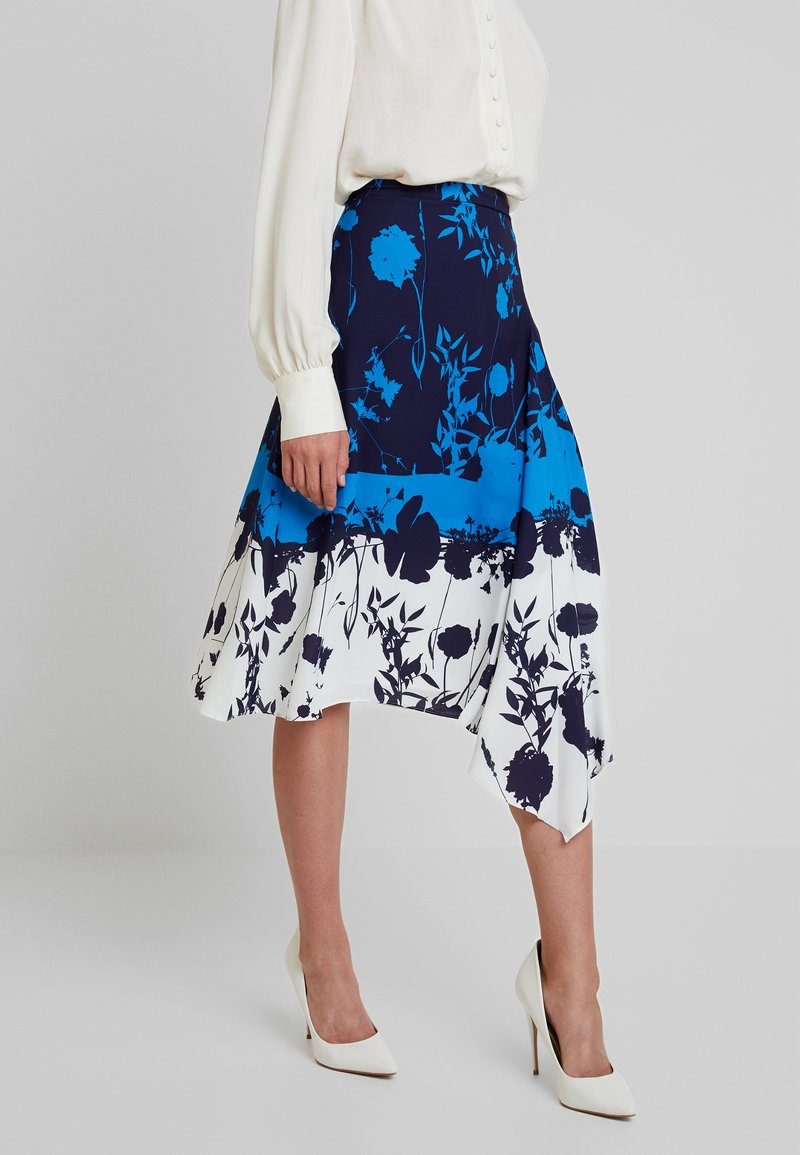 Ted Baker - A-Linien-Rock - dark blue