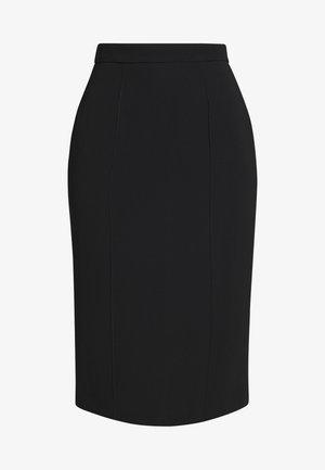RAEES - Pouzdrová sukně - black