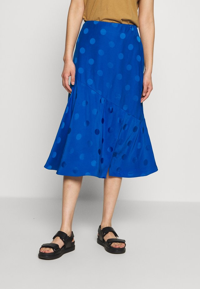DELLLA - Pencil skirt - blue