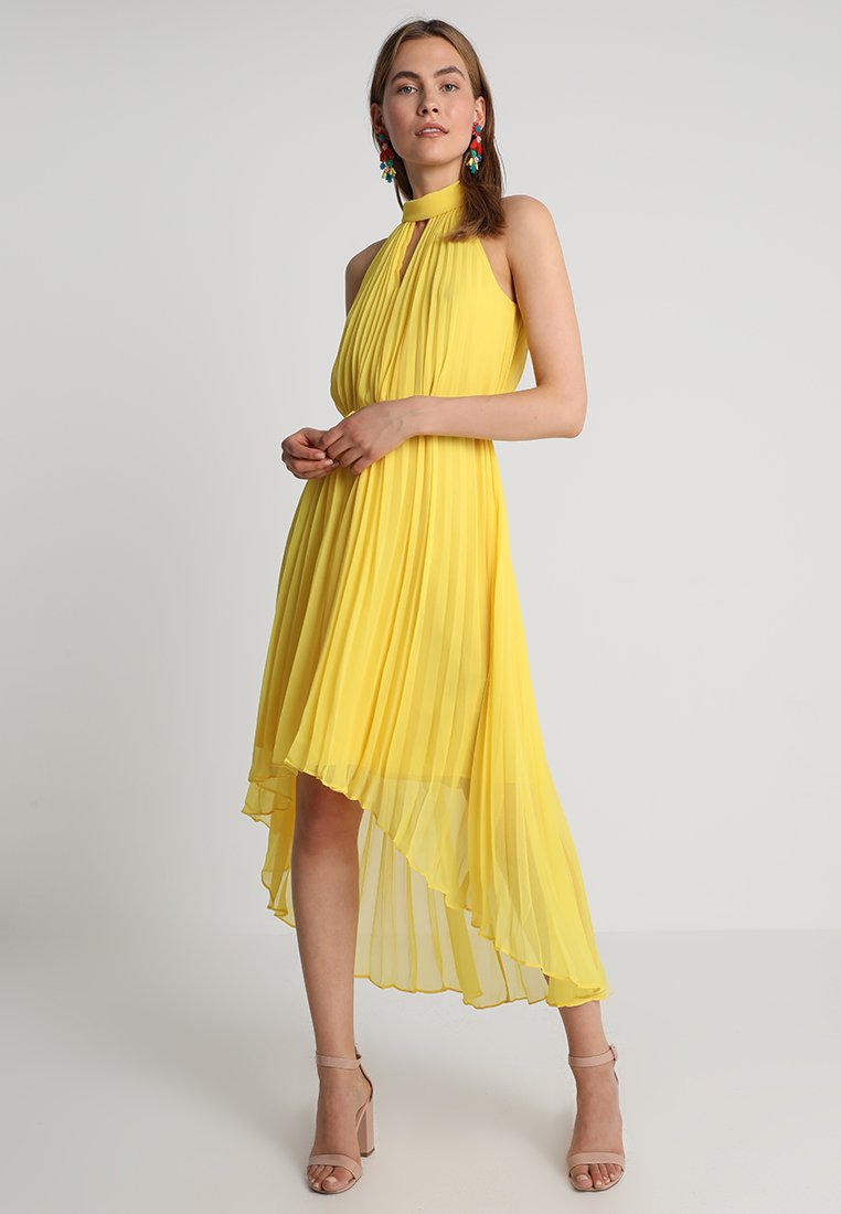 Ted Baker - NADETTE PLEATED COLLARED DRESS - Maxikjoler - yellow