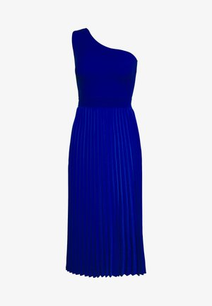 MIRIOM ASYMMETRIC MIDI DRESS - Cocktailkjole - bright blue
