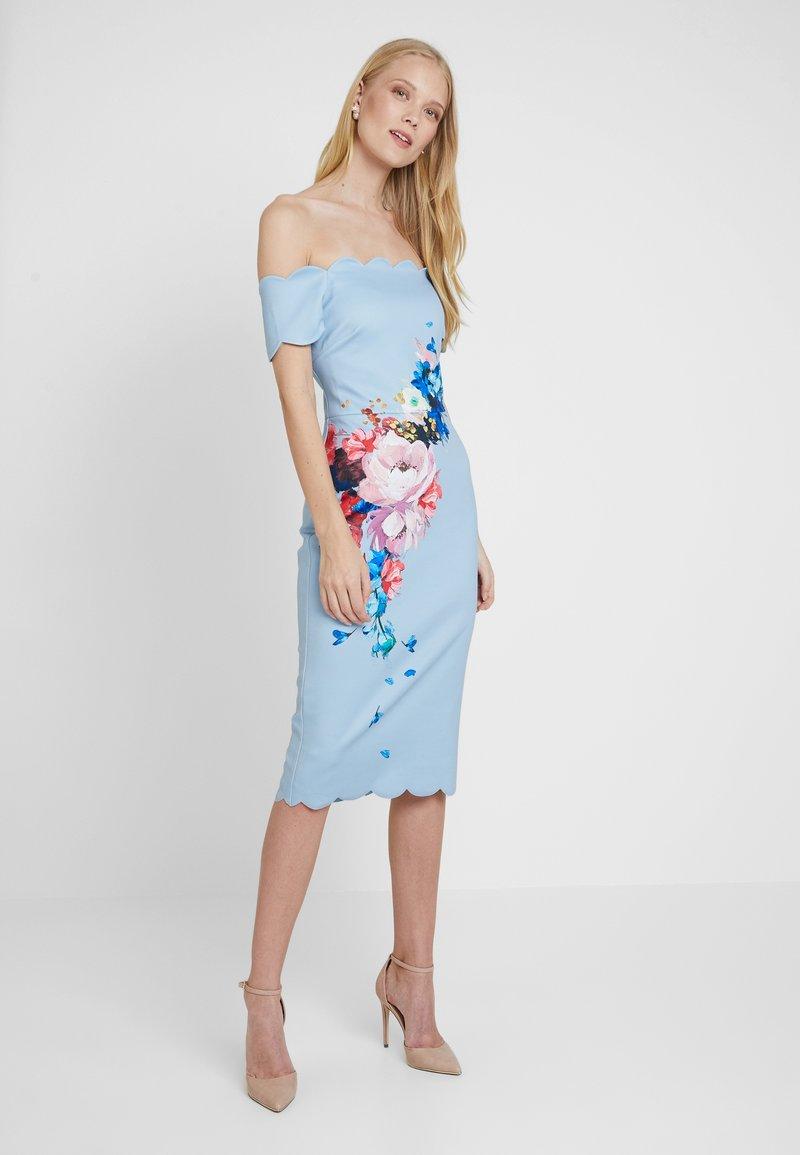 Ted Baker - HAILLY - Jersey dress - lt blue