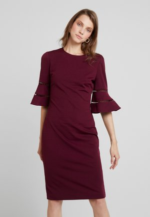 FLINIO - Robe fourreau - oxblood