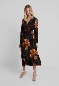 Ted Baker - STELA WRAP DRESS - Kjole - black - 0