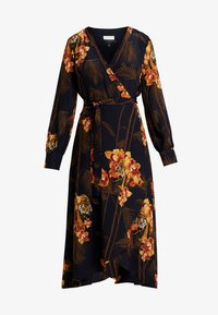 Ted Baker - STELA WRAP DRESS - Kjole - black - 5