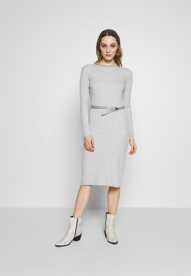 GJESSI - Jumper dress - grey