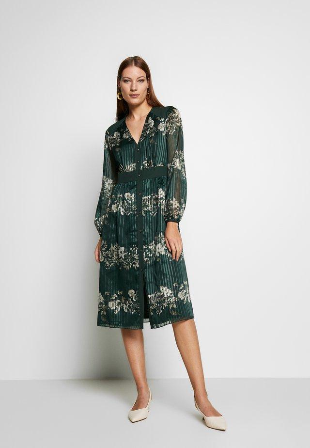 DELYLA - Korte jurk - dark green
