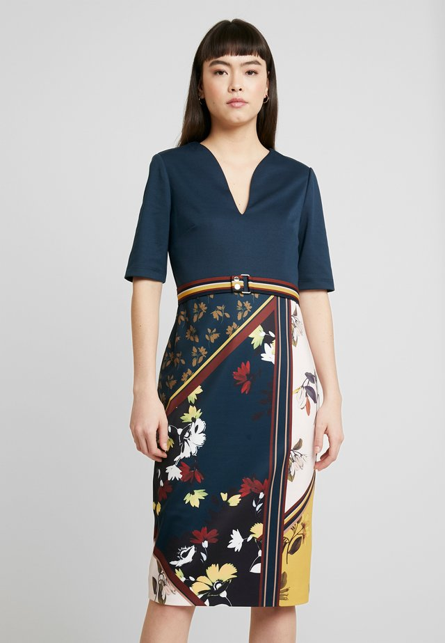 MADIIY - Shift dress - dark blue