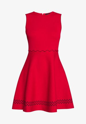 CLOEEI - Robe pull - red