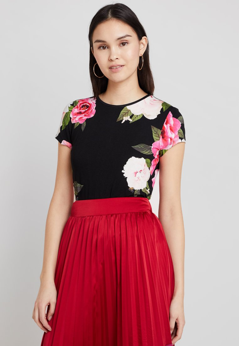 Ted Baker - ALANYO MAGNIFICENT  - T-Shirt print - black